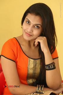 Telugu Actress Chandana Stills in Salwar Kameez at Karam Dosa Movie Press Meet  0082.JPG