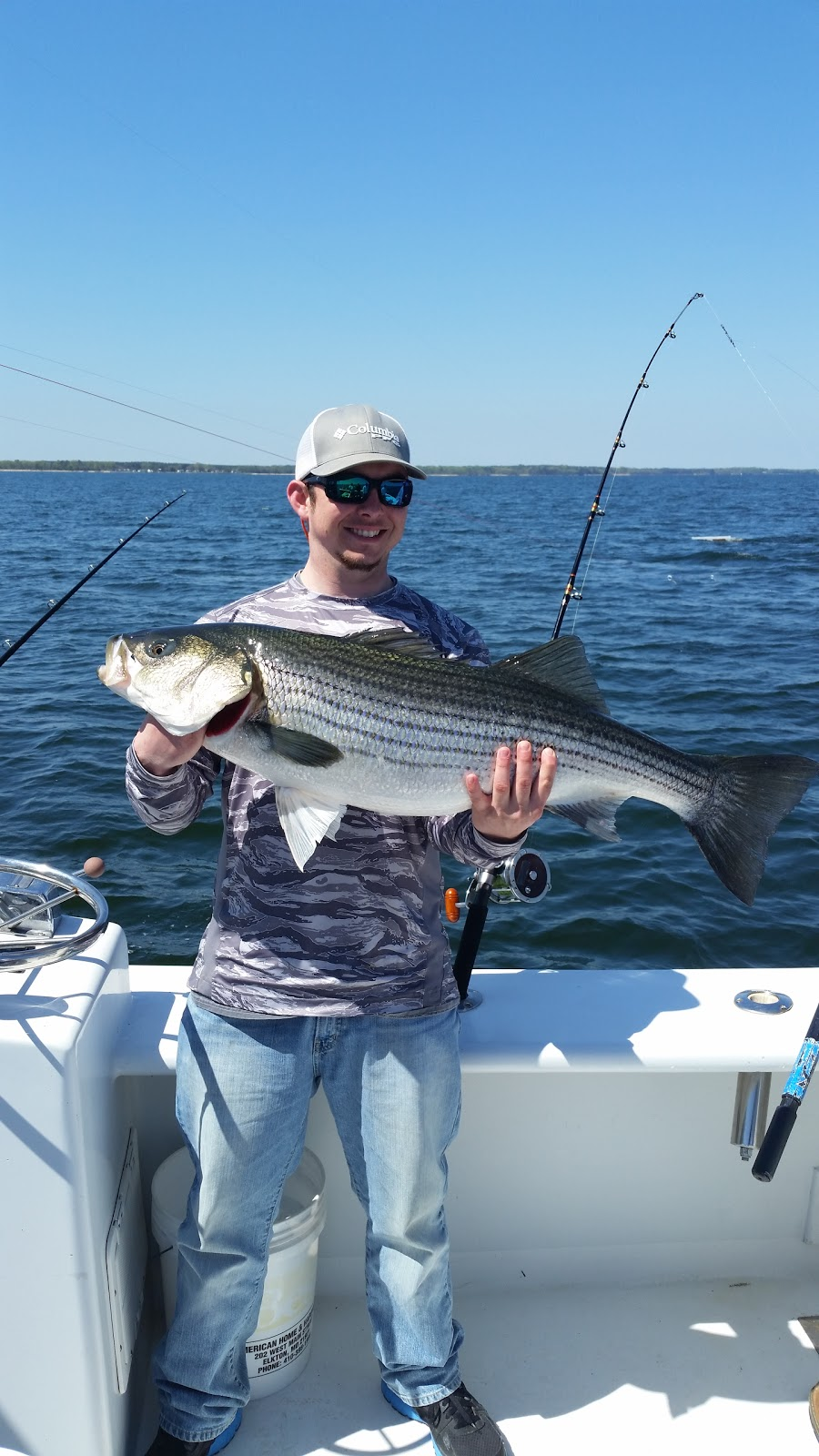 Southern tide guide service fishing report northern neck for Grand slam fishing