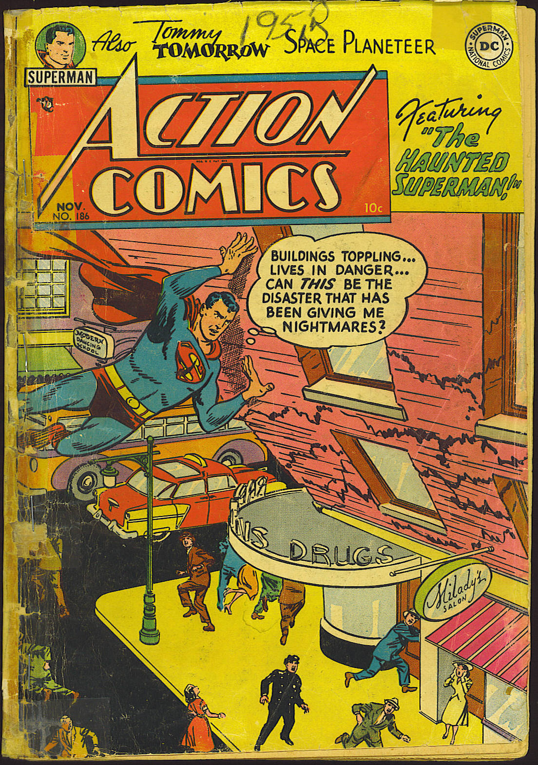 Read online Action Comics (1938) comic -  Issue #186 - 2