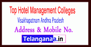 Top Hotel Management Colleges in Visakhapatnam Andhra Pradesh