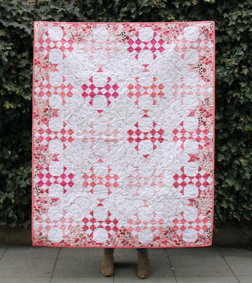 Dear Stella Charmer Quilt Free Pattern