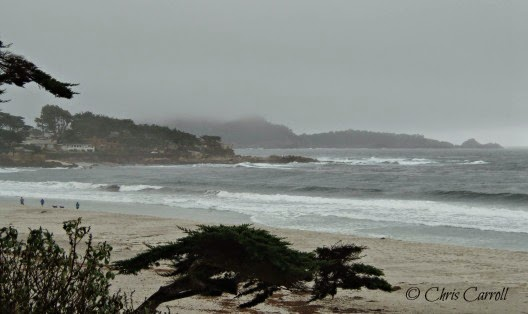 Pacific Ocean in Carmel California