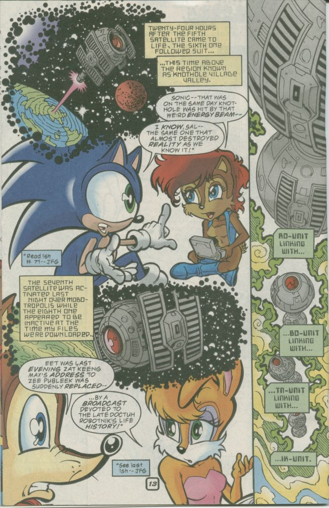 Read online Sonic The Hedgehog comic -  Issue #73 - 16