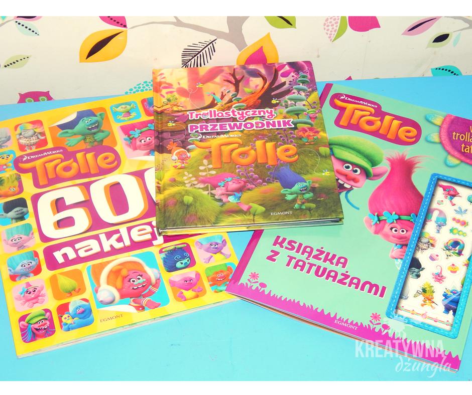 książki dla dzieci trolle