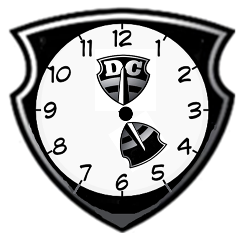 sludge output alternate dc current logo 5 O'Clock Clock the 5am start 2 hours before sunrise makes for a very early morning here s a timely alternate logo for the dc current