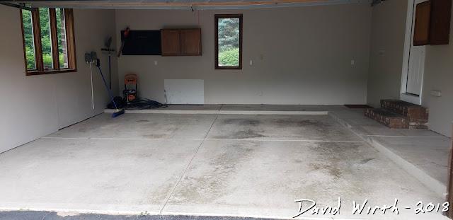 refresh redo garage floor with epoxy paint