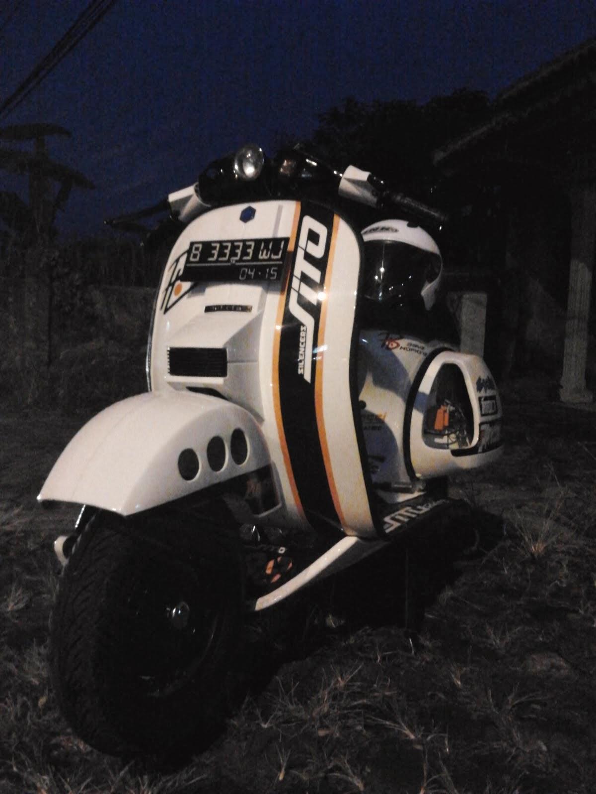 Download koleksi 79 modifikasi motor vespa racing terbaru dan terkeren