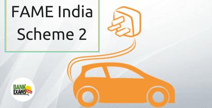 FAME India Scheme 2