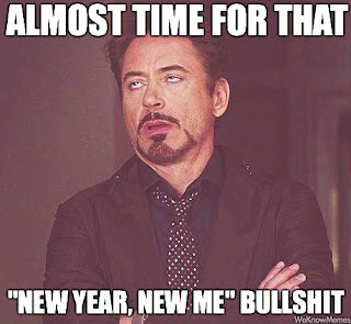 New Year New Me bullshit, new year meme
