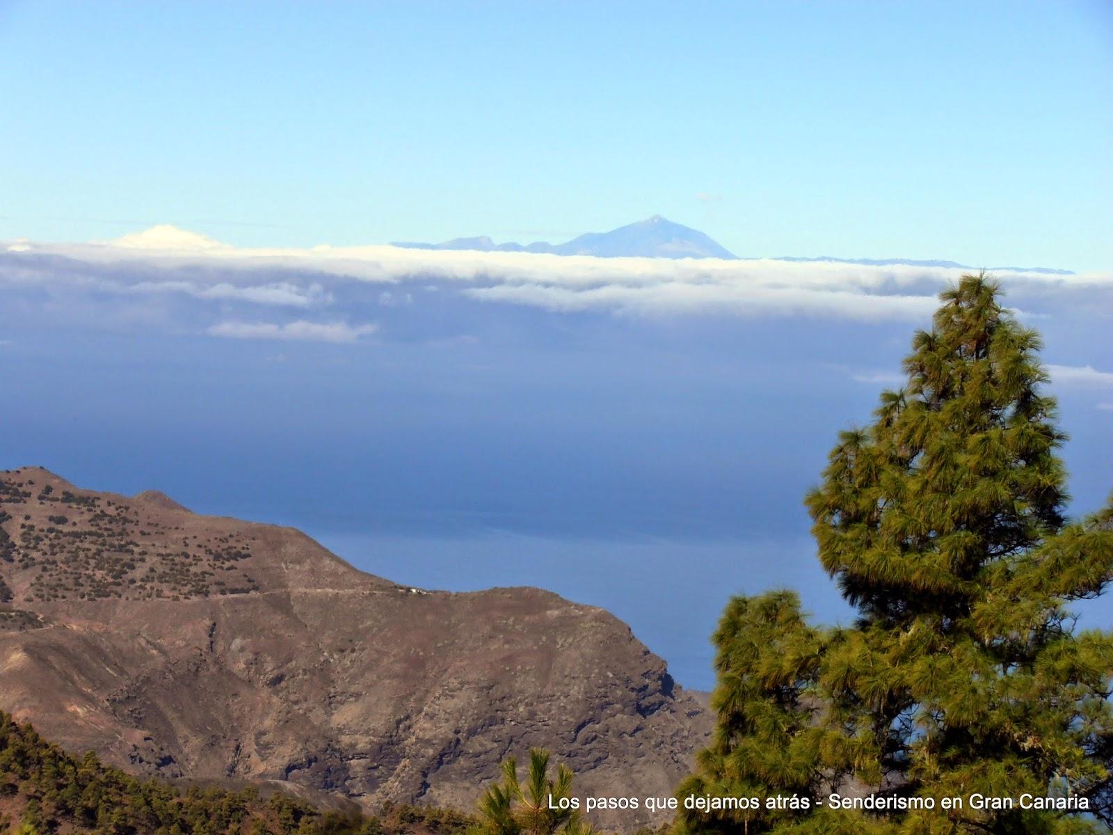 El Teide y parte de la Finca de Tirma