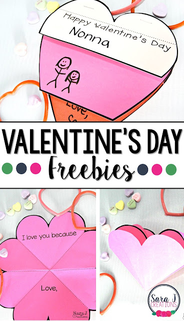 Love these free Valentine's Day printable cards templates.