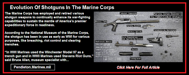 Evolution Of Shotguns In The Marine Corps