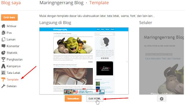 Cara Lengkap Membuat Template Blogger Sendiri
