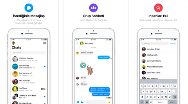 فيسبوك تطلق تطبيق Messenger Lite لنظام iOS