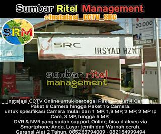 Pemasangan Pada SRC IHZN MART di Lubuk Lintah - Padang