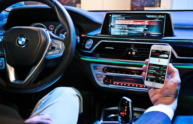 BMW gets into the virtual assistant game with its ConnectedDrive app