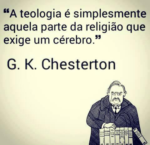 Frases Cristãs G K Chesterton Portal Da Teologia