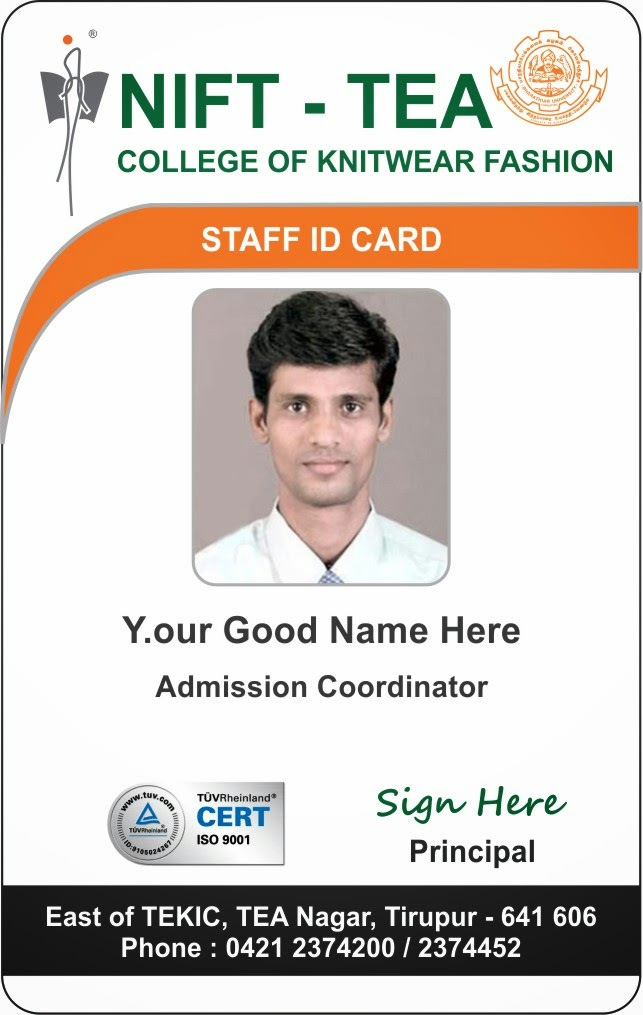 Template Galleries New Student and Staff ID Card Template - Updated - sample id cards