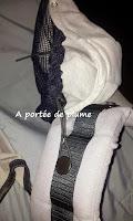 porte-bébé préformé Hoodiecarrier Jpmbb portage tétière bretelles bébé tête