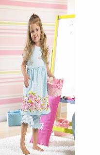 patrón gratis y tutorial vestido de niña Bernina