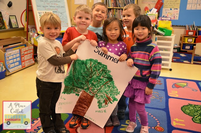 Learn about the 4 seasons by creating these seasonal trees in Kindergarten. This Kindergarten 4 seasons activity will help your students understand what happens to a tree in the winter, spring, summer and fall.