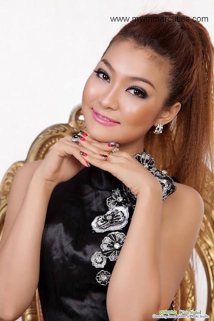 Classical Cute New Face Model- Khine Thazin