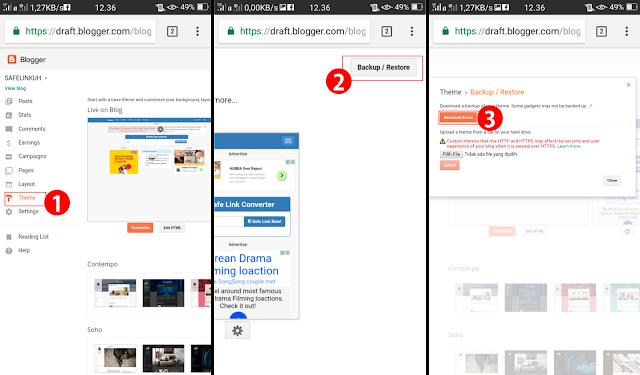 Cara Mengedit HTML Blogger di Android dengan Mudah