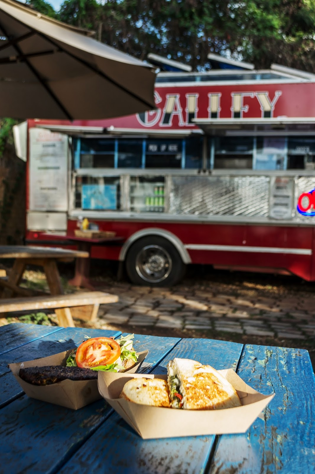 Food Trucks in North Shore, Oahu