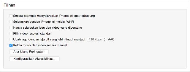 cara mengubah otomatis menyeelaraskan iPhone menjadi kelola secara manual