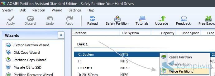 cara menambah kapasitas hard disk drive
