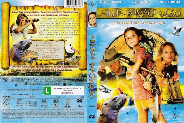 Capa DVD A Ilha da Imaginação