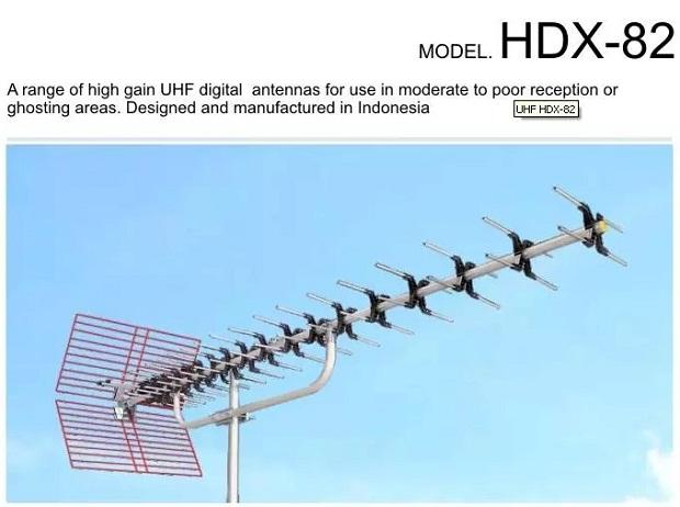 Merk Antena TV Paling Bagus PF HDX 82