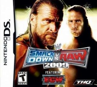 WWE SmackDown vs Raw 2009 featuring ECW, NDS, Español, Mega, Mediafire