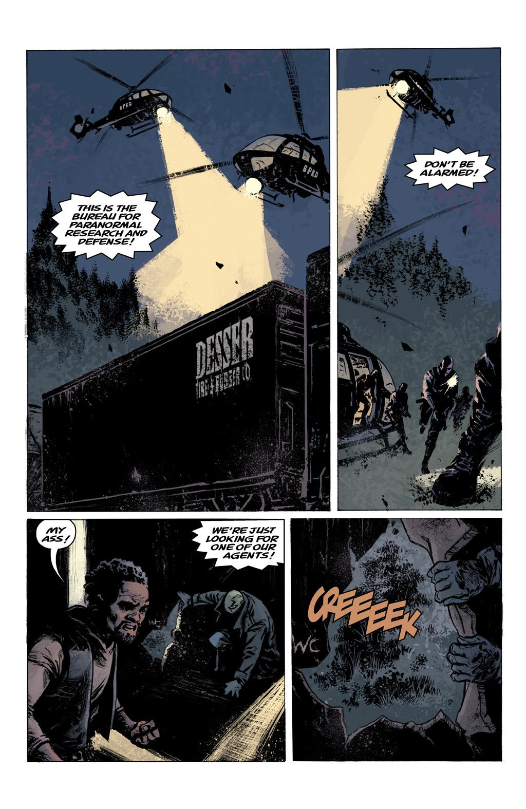 Read online Abe Sapien comic -  Issue #1 - 22