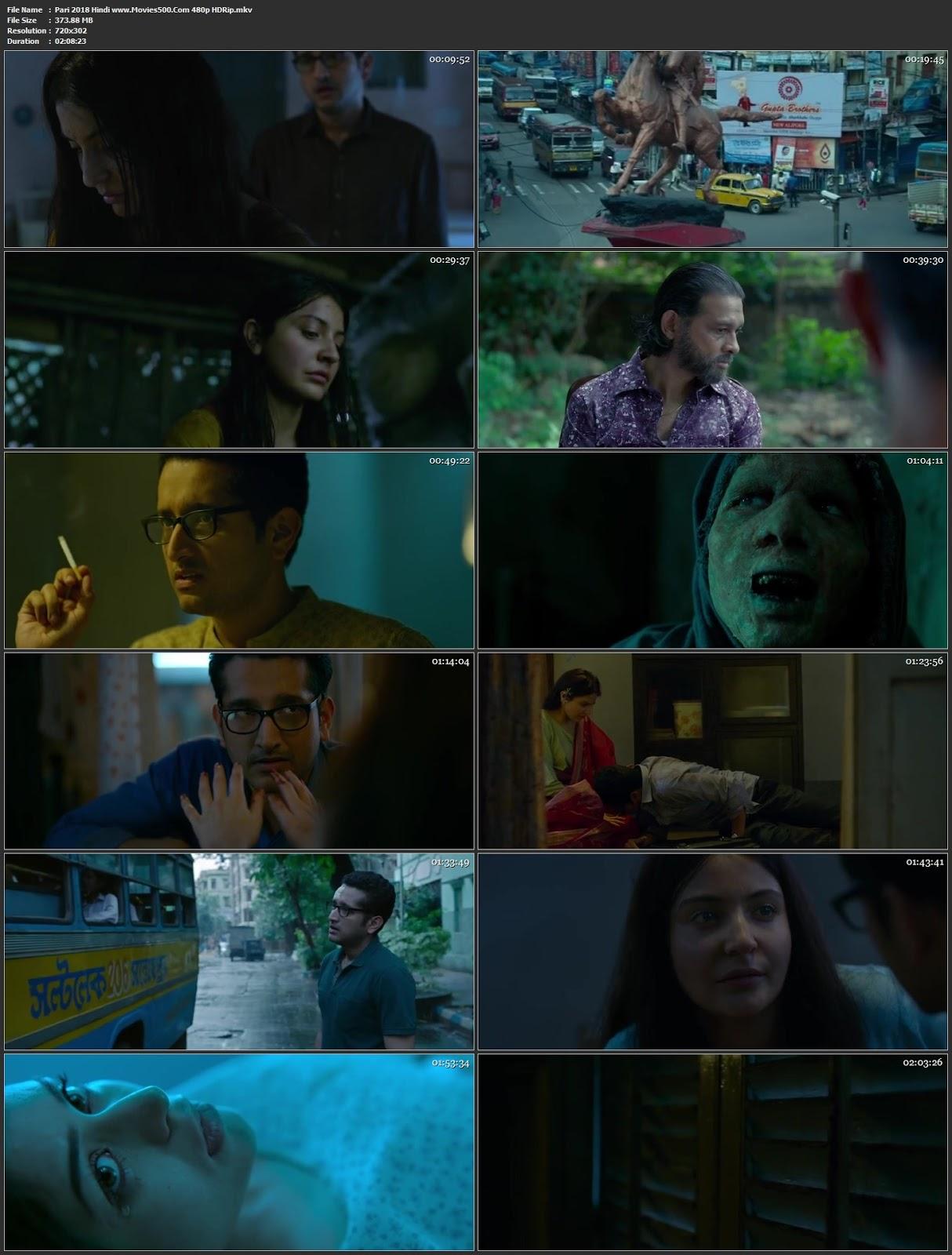 Pari 2018 Bollywood 300MB HDRip 480p Movies500 at movies500.info