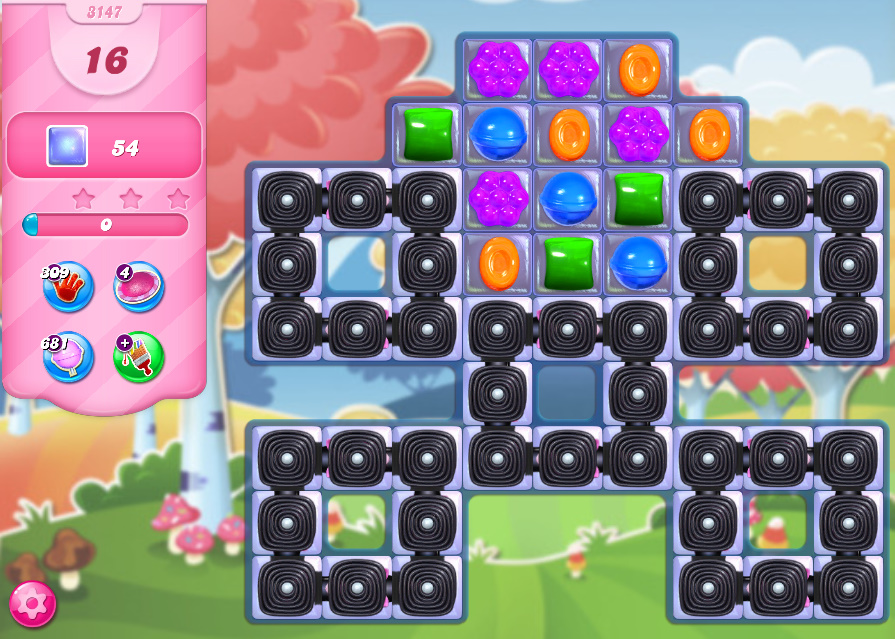 Candy Crush Saga level 3147