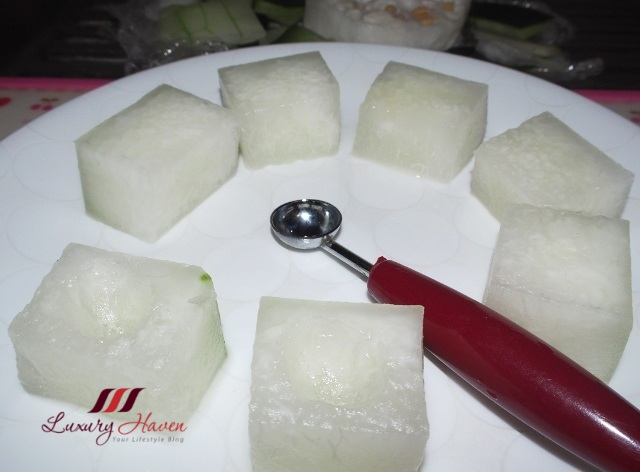 chinese cooking winter melon baller