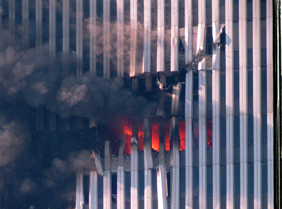 North Tower Wing-tip Impact