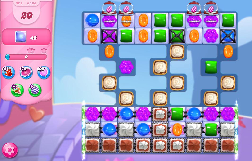Candy Crush Saga level 6500
