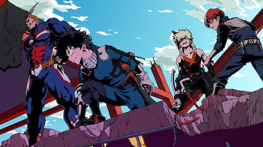 My Hero Academia, All Might, Izuku, Katsuki, Shoto, 4K, #5 ...