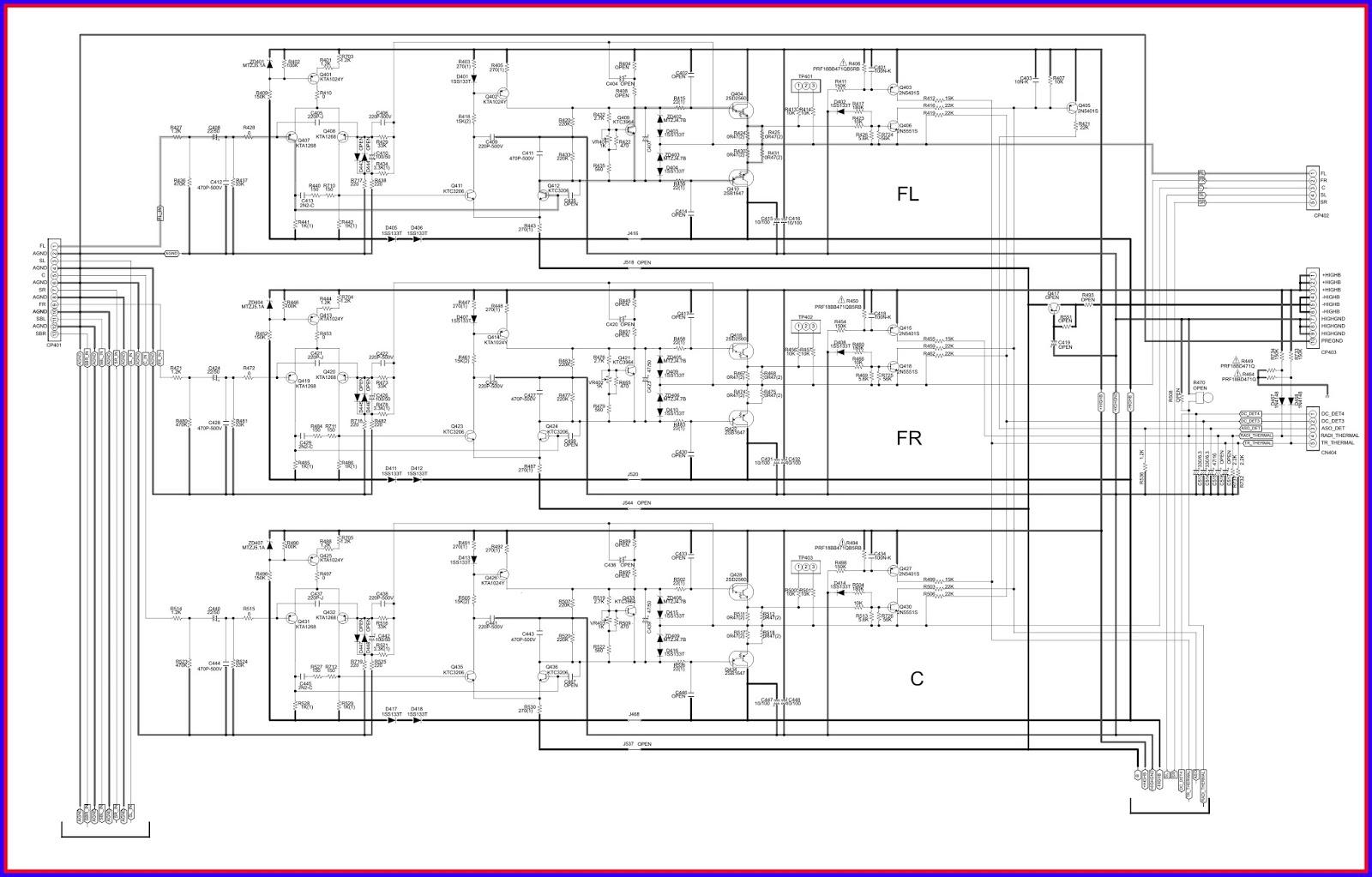 Electronic Equipment Repair Centre Marantz Sr 7 1