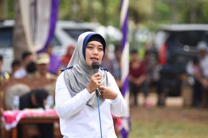 Nunik Berkomitmen Dalam Memajukan Pertanian di Lampung Timur.