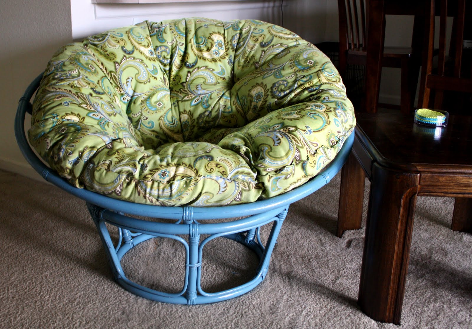 papasan chair cushion covers diy best for hip replacement tails to tell another man 39s trash