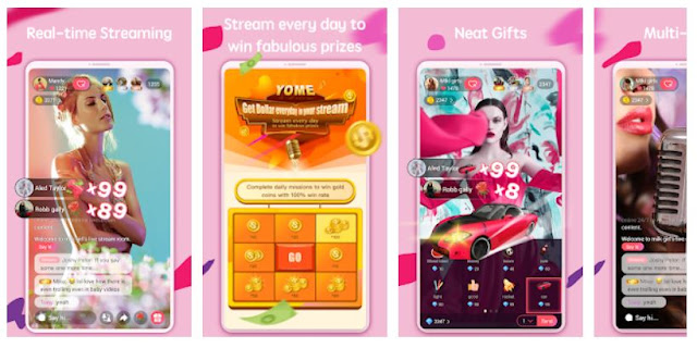 Yome Live Mobile App - Youth Apps