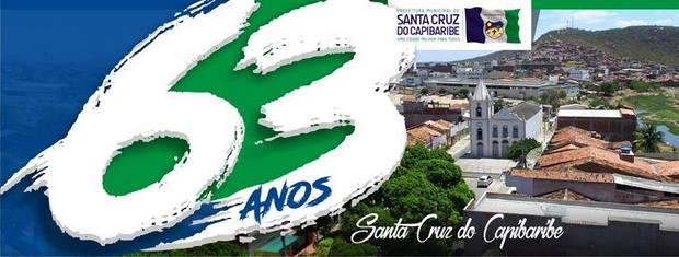 Aniversário de Santa Cruz do Capibaribe é comemorado com inauguração e anúncios de obras