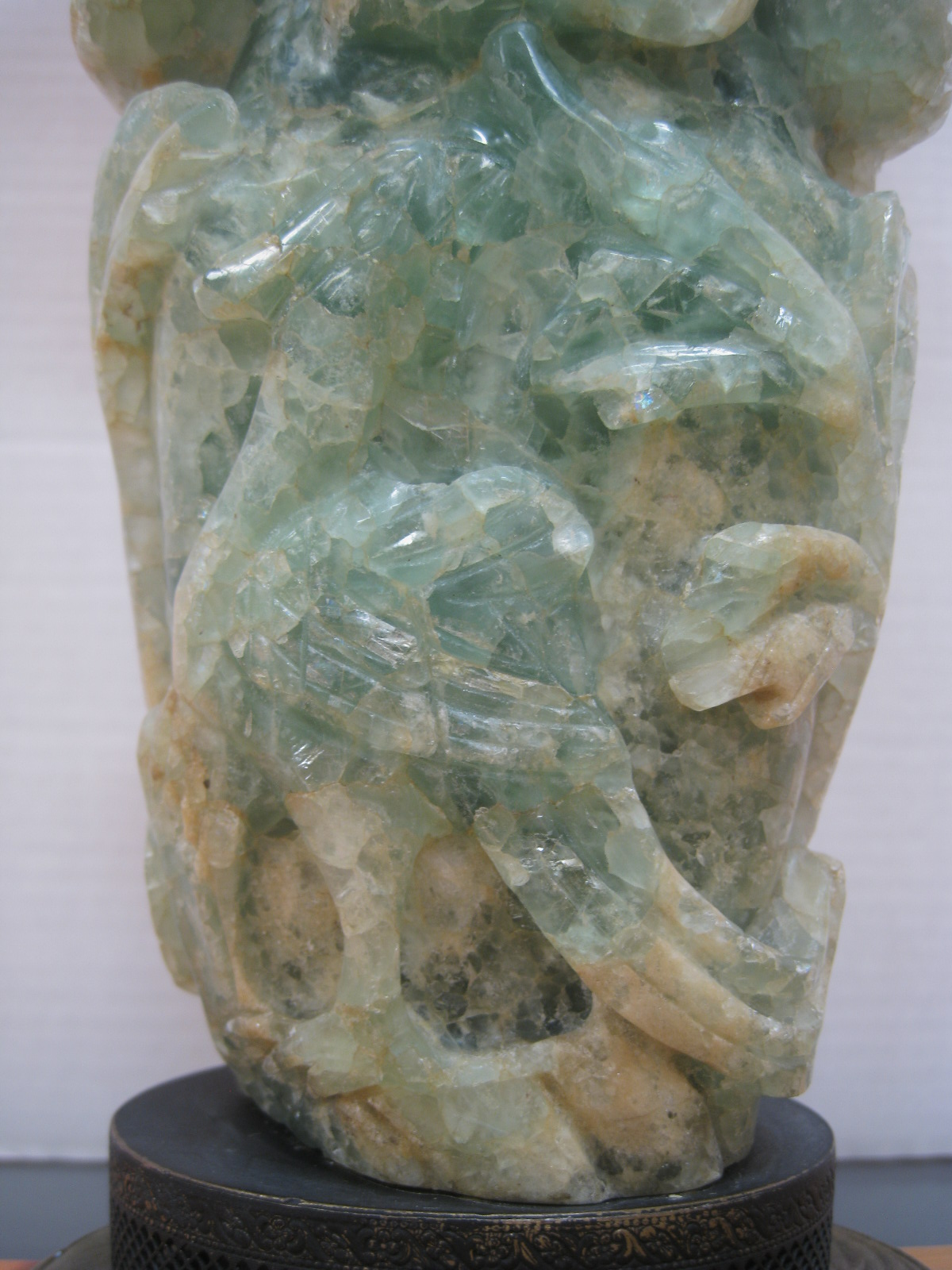 Antiques, Art, and Collectibles: Asian antique carved jade