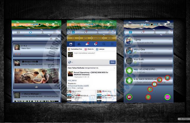 download BBM Mod Versi Terbaru 2.13.0.26 Thema 4 Tab View Flipper Apk