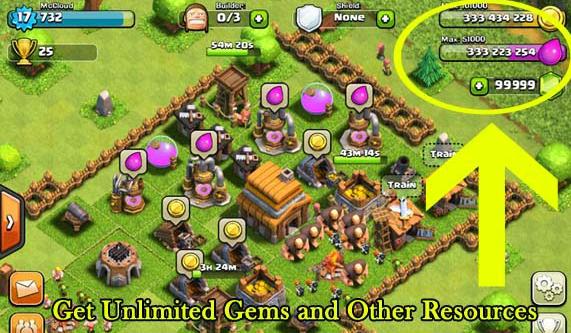 clash of clans free gems