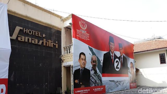 BPN Ungkap Fungsi Posko Prabowo yang Nempel Warung Markobar Gibran
