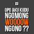 Gambar DP BBM Meme Lucu Bahasa Jawa 2017